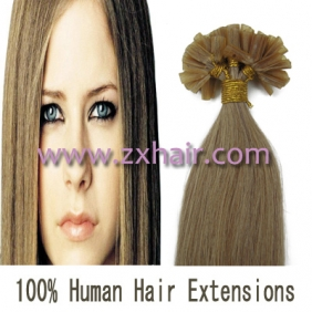 "Wholesale 100S 18"" Nail tip hair remy Human Hair Extensions #16"