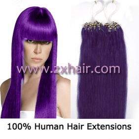 "Wholesale 100S 18"" Micro rings/loop hair remy human hair extensions #lila"