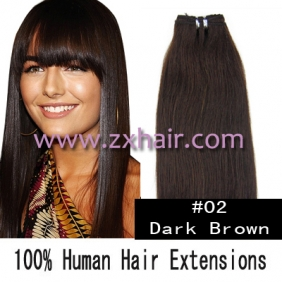 "Wholesale 20"" remy Human Hair Weft/Extensions 50"" Wide #02"