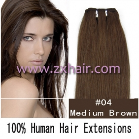 "Wholesale 20"" remy Human Hair Weft/Extensions 50"" Wide #04"