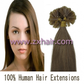"Wholesale 100S 20"" Nail tip hair remy Human Hair Extensions #12"