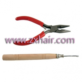 Wholesale A Straight Plier and A Needle for Human Hair Extensions