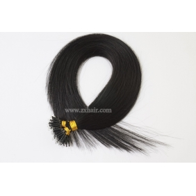 "Wholesale 100S 20"" Nano hair 0.5g/s human hair extensions #01"