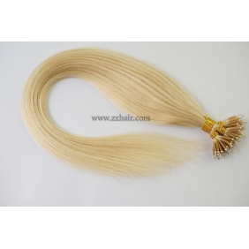 "Wholesale 100S 20"" Nano hair human 0.5g/s hair extensions #613"