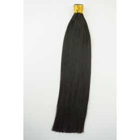 "Wholesale 100S 16"" Stick tip hair 1g/s  human hair extensions #1B Double Drawn"