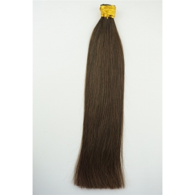 "Wholesale 100S 16"" Stick tip hair 1g/s  human hair extensions #02 Double Drawn"