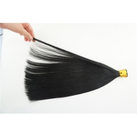 "Wholesale 100S 20"" Stick tip hair 1g/s  human hair extensions #01 Double Drawn"