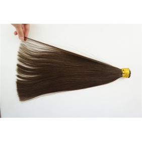 "Wholesale 100S 20"" Stick tip hair 1g/s  human hair extensions #02 Double Drawn"