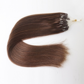 "Wholesale 100S 16"" Micro rings/loop hair 1g/s  human hair extensions #02 Double Beads"