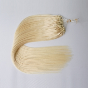 "Wholesale 100S 16"" Micro rings/loop hair 1g/s  human hair extensions #60 Double Beads"