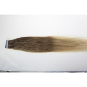"Wholesale 16"" 30g Tape Human Hair Extensions #12/20 Ombre"