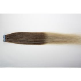 "Wholesale 20"" 50g Tape Human Hair Extensions #12/613 Ombre"