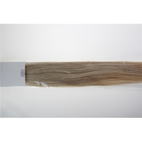 "Wholesale 20"" 50g Tape Human Hair Extensions #18/613 Mixed"