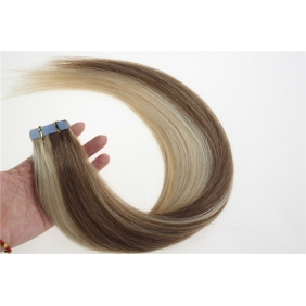 "Wholesale 16"" 30g Tape Human Hair Extensions #12/613 Mixed"