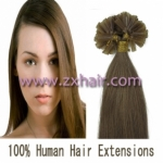 "100S 20"" Nail tip hair remy Human Hair Extensions #12"