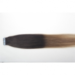 "22"" 60g Tape Human Hair Extensions #02/12 Ombre"