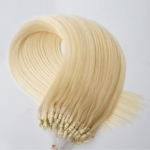 "100S 20"" Micro rings/loop hair 1g/s human hair extensions #60 Double Beads"
