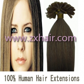 "100S 16"" Nail tip hair remy Human Hair Extensions #16"