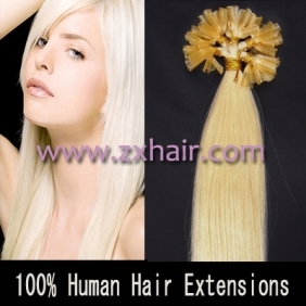 "100S 26"" Nail tip hair remy Human Hair Extensions #60"