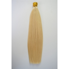 "100S 16"" Stick tip hair 1g/s human hair extensions #613 Double Drawn"