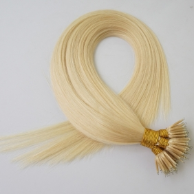 "100S 18"" Nano hair 1g/s human hair extensions #60 Double Drawn"