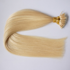"100S 20"" Nano hair 1g/s human hair extensions #613 Double Drawn"