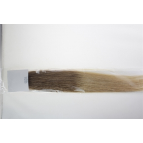 "20"" 50g Tape Human Hair Extensions #12/20 Ombre"